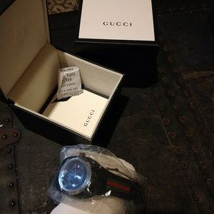 Authentic Men's New Athletic Gucci Watch